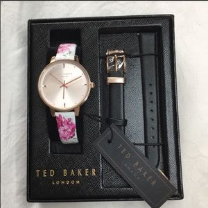 Ted Baker Kate Multi Leather Band Watch Set new